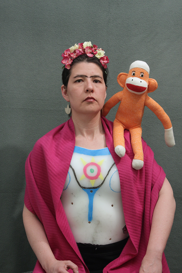 Self-portrait with Monkey, 2011