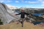 On the way up to Medicine Bow Peak.
