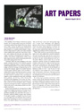 Art Papers review, Mar-Apr 2010