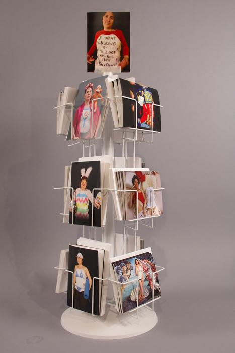 """Greeting"" card rack, 2011"